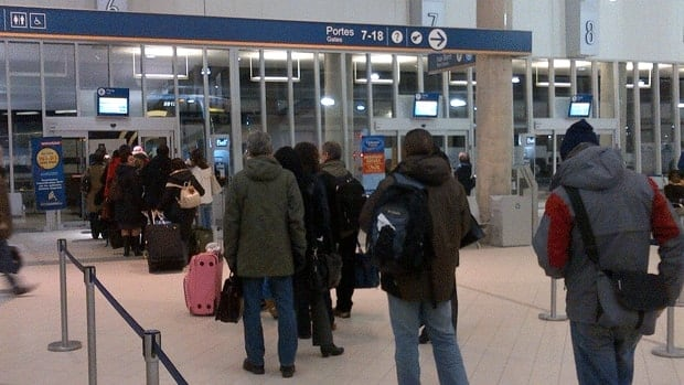 Montreal's new bus terminal opened on Thursday.