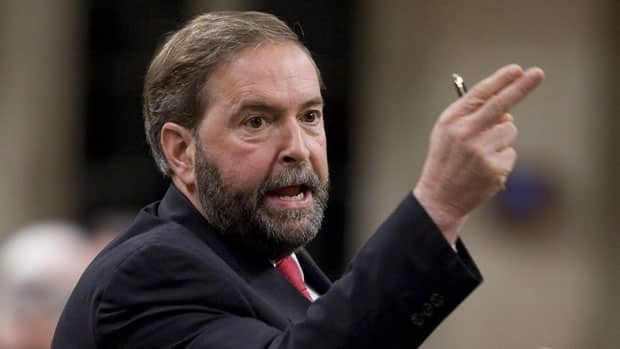 NDP deputy leader Thomas Mulcair said Tuesday he's being encouraged to run for his party's leadership, but he hasn't made a final decision yet.
