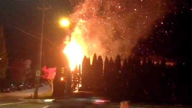 Halloween Fireworks Keep Vancouver Firefighters Busy