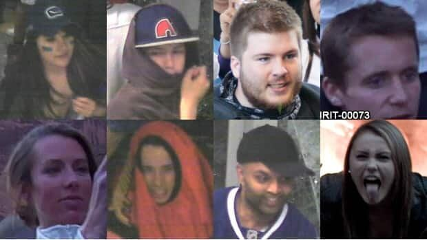 New photos of suspected rioters have been posted to a Vancouver police website.