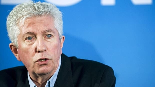 Bloc Québécois Leader Gilles Duceppe, seen addressing supporters in Montreal on Sunday asked that the French-language debate be moved up a day to avoid a programming conflict with the Montreal-Boston NHL playoff series.