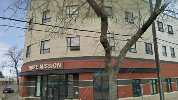 A 40-year-old man was stabbed near the Hope Mission on Friday night. He later died in hospital.
