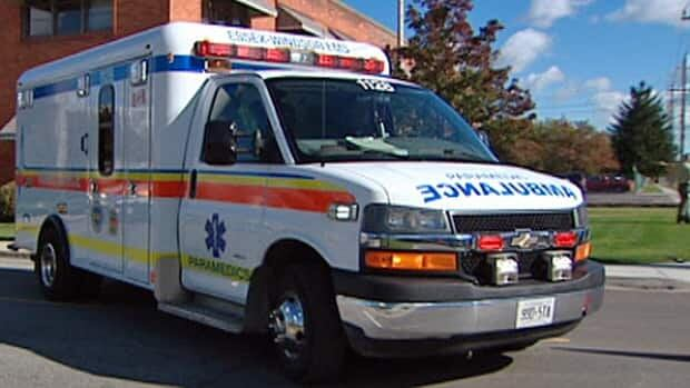 A man is dead after a collision on Riverside Drive East last night.