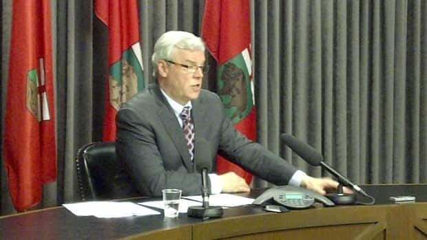 Premier Greg Selinger announces the details of a $175-million package to compensate residents affected by the 2011 flood and build on future protection measures.
