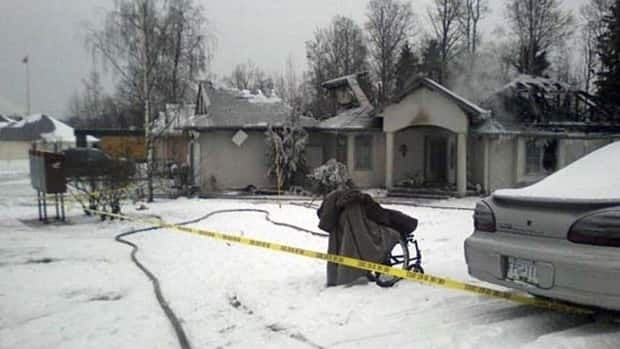 A disabled woman who was seriously burned in a Prince George, B.C., arson in November 2010 is among the crime statistics that earned the city its 'most dangerous' ranking.