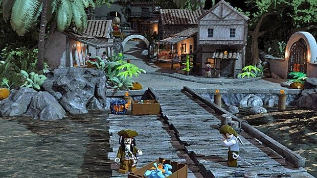 The puzzle element in Lego Pirates of the Caribbean appeals to gamers of all ages, not just the children the Lego games are obviously aimed at.