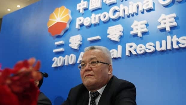 Zhou Jiping, Vice Chairman and President of PetroChina Limited attends attends a conference in March. PetroChina has a 60 per cent stake in the freshly-approved MacKay River oilsands project.