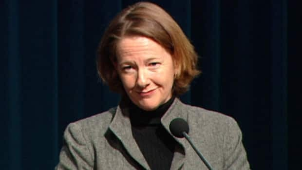 Premier Alison Redford tells reporters Friday a request to suspend a decision on a controversial high-voltage power line was a mistake, due to 'miscommunication' between her and new energy minister Ted Morton.