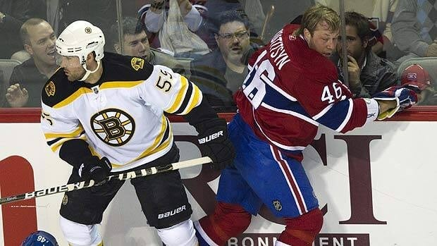 Montreal forward Andrei Kostitsyn, right, is scheduled to be an unrestricted free agent in 2012.