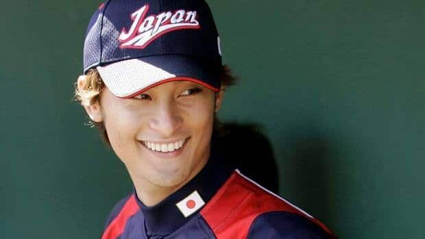 Japan's Yu Darvish, seen here in March 2009, Darvish, who reportedly throws seven pitches including two- and four-seam fastballs as well as a cut fastball and a bevy of off-speed stuff.
