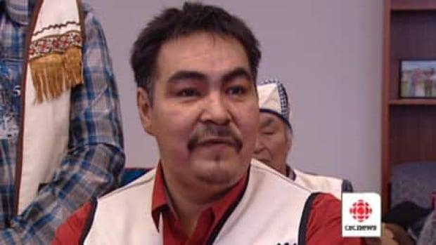 Innu Nation Grand Chief Joseph Riche in Ottawa on March 21.