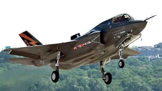 An F-35 Joint Strike Fighter manufactured by U.S. defence contractor Lockheed Martin, which said Saturday that hackers launched a 'significant and tenacious' cyberattack on its information systems.