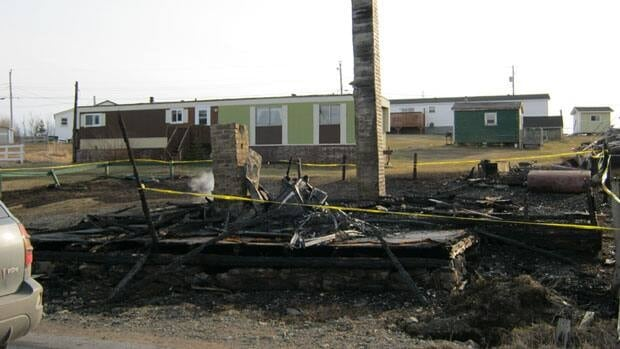 Police say the fire that destroyed this vacant Bonavista house last week is suspicious.
