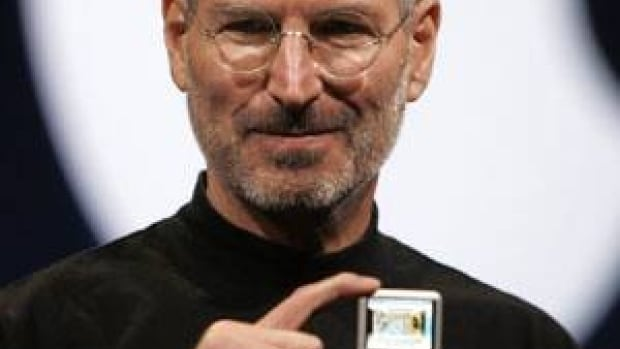 Apple CEO Steve Jobs introduces the Apple Nano in September 2007. The late technology guru will be honoured at the Grammy Awards in February.