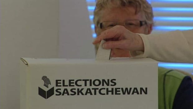 Elections Saskatchewan said Saturday that 92 per cent of an estimated 815,000 potential voters in the province are registered to vote. People may also register when they vote, either in an advance poll or on election day April 4.