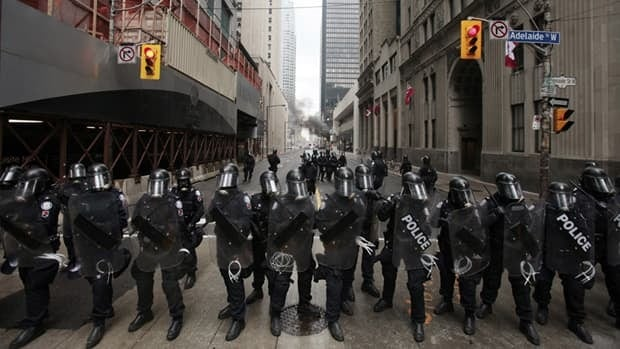 A Toronto Police officer was charged on Friday with assault causing bodily harm related to an incident at the G20 last year.