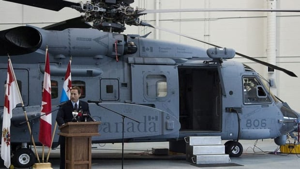 The Cyclones are meant to replace Canada's 50-year-old CH-124 Sea Kings.
