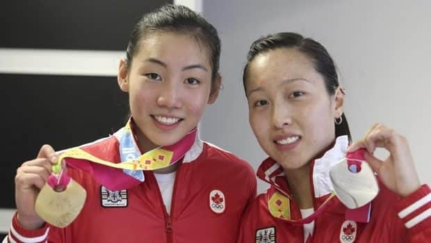 Michelle Li, left, was the gold medallist, while Canadian teammate Joycelyn Ko took the silver in women's singles badminton at the 2011 Pan American Games in Guadalajara, Mexico, on Thursday.