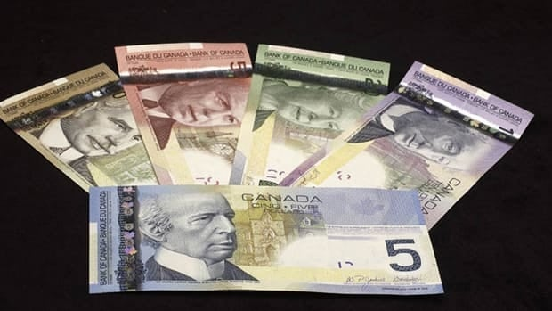 Canada's new series of banknotes will be made with a polymer material to guard against counterfeiters.