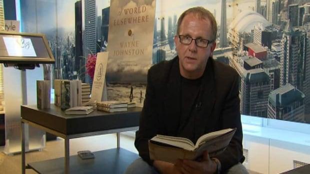 Wayne Johnston, seen here promoting his book A World Elsewhere, is on the shortlist for the Leacock Medal for Humour for his book The Son of a Certain Woman. (CBC)