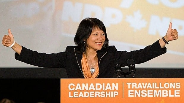 NDP MP Olivia Chow won re-election on May 2, and won again when her name was pulled fifth in the lottery to determine which MPs will have their private members' business considered by the House of Commons this fall.