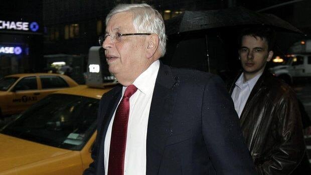 NBA commissioner David Stern arrives for Wednesday's NBA labor negotiations in New York. Stern left after the seven-hour mark of negotiations, an hour before talks ended for the day.