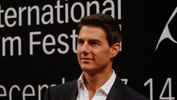 Tom Cruise, seen in Dubai on Wednesday for the opening night screening of Mission: Impossible - Ghost Protocol, confirmed he is in talks for a Top Gun sequel.