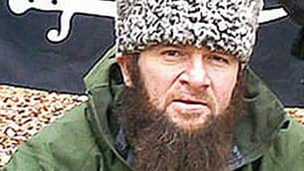 Chechen separatist leader Doku Umarov, appearing here an in undated video, is reportedly dead and has been replaced as head of the extremist insurgency in the North Caucasus region.