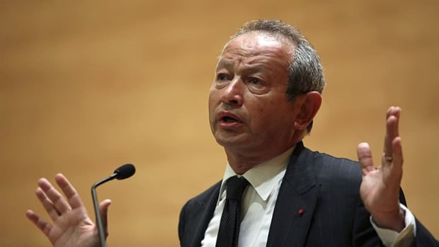 Egyptian billionaire Naguib Sawiris says he will never invest in Canada again after his $520-million takeover bid for MTS's Allstream division was rejected by Ottawa over national security concerns.