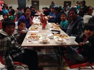 Thanksgiving dinner Regina