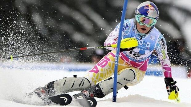 Lindsey Vonn dedicated her off-season to improving in her weaker events, one of which is the slalom.