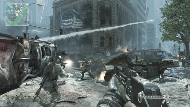 A screen shot from Call of Duty: Modern Warfare 3. The latest instalment of the popular video game franchise will no doubt sell well, but it remains limited in the type of interactive game play it offers single players.