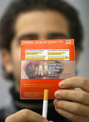 How much nicotine is in a Marlboro light menthol cigarette