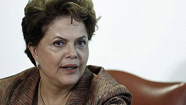 Brazil's President Dilma Rousseff, a no-nonsense economist. But can she really make grown men cry?