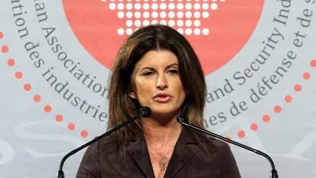 Minister of Public Works Rona Ambrose tells the Canadian Association of Defence and Security Industries in Ottawa last week that the government intends to keep lobbyists out of the shipbuilding procurement process.