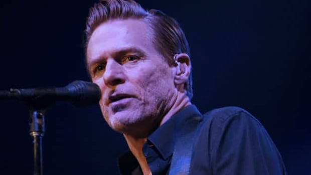 Canadian musician Bryan Adams, seen performing in Beirut in December, became a father on April 22.