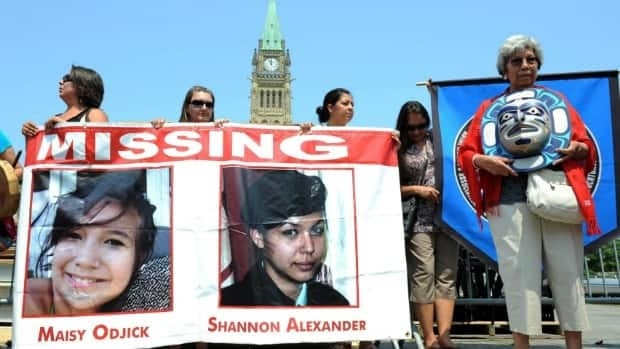 Participants of the Women's Worlds 2011 congress rallied on Parliament Hill last July, in solidarity with missing and murdered aboriginal women across Canada.