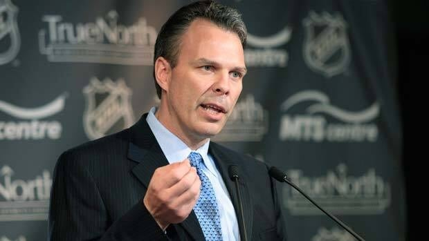 Kevin Cheveldayoff, general manager of Winnipeg's NHL franchise, is slated to make the team's first pick in the entry draft on Friday.