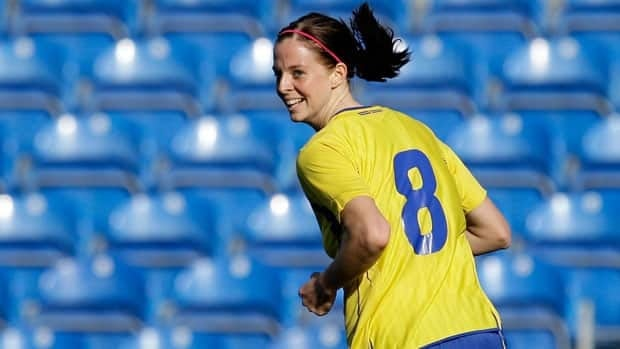 Sweden's Lotta Schelin is often compared to Zlatan Ibrahimovic.