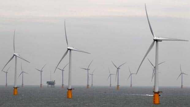 Wind turbines are seen at Thanet Offshore Wind Farm off the Kent coast in southern England, the largest site of its kind. Ontario recently declared a moratorium on all offshore development, the second one is five years.