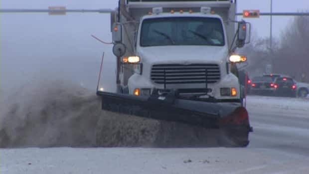 Snow plough drivers are among the workers that can be declared essential under Saskatchewan's essential services act.