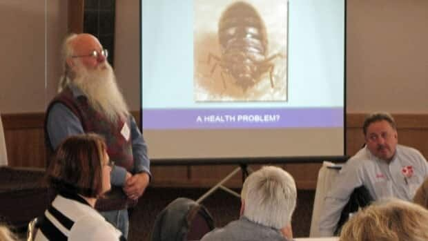 Thunder Bay and District Health Unit put on a conference Tuesday to educate the public about bed bugs.