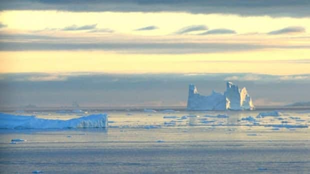 An iceberg is seen in Disko Bay, Greenland, above the Arctic Circle in this 2005 photo. Scientists are monitoring a massive pool of fresh water in the Arctic Ocean that could spill into the Atlantic and potentially alter the ocean currents that bring Western Europe its moderate climate.