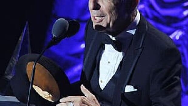 Singer-songwriter Leonard Cohen is the latest winner of the Glenn Gould Prize.