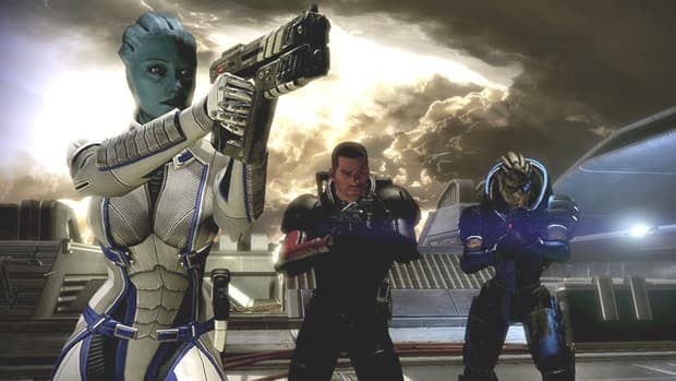 A scene from Mass Effect 2, which won Game of the Year at the second annual Canadian Videogame Awards.