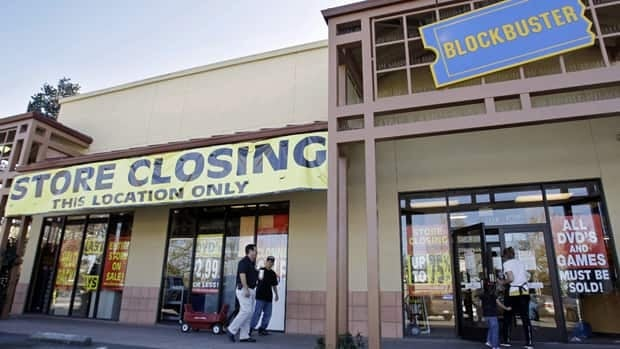 The Canadian affiliate acted as guarantor for Blockbuster's U.S. operations, such as this outlet in Palo Alto, Ca., which went into bankruptcy protection last September.