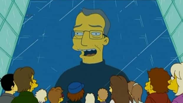 Steve Jobs was depicted as Steve Mobs, CEO of Mapple Computers, in a 2008 episode of the Fox show The Simpsons.