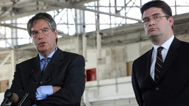 Two long-time lawyers for convicted war criminal Omar Khadr, Dennis Edney, left, and Nate Whitling, were fired and replaced by a pair of Toronto attorneys.