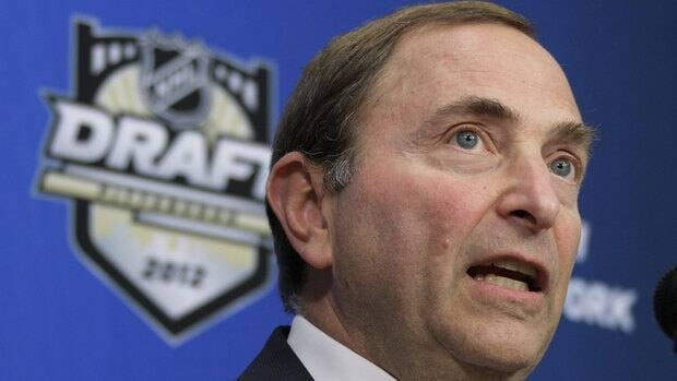 NHL Commissioner Gary Bettman announces that the Consol Energy Center, home of the Pittsburgh Penguins, will host the NHL Draft on June 22-23, 2012, on Thursday.