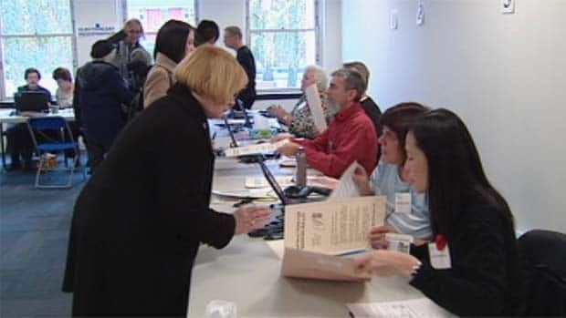Municipal voter turnout in B.C. has dropped to the lowest in Canada.